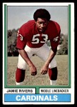 1974 Topps #508  Jamie Rivers  Front Thumbnail