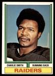 1974 Topps #523   -  Charlie Smith  Record Breaker Front Thumbnail