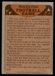 1974 Topps  Checklist   Giants Back Thumbnail