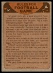 1974 Topps  Checklist   Browns Back Thumbnail