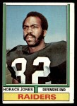 1974 Topps #429  Horace Jones  Front Thumbnail