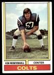 1974 Topps #434  Ken Mendenhall  Front Thumbnail