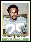 1974 Topps #457  Jerry LeVias  Front Thumbnail