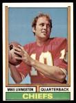 1974 Topps #459  Mike Livingston  Front Thumbnail