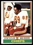 1974 Topps #520  Otis Taylor  Front Thumbnail