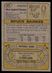 1974 Topps #522  Bruce Barnes  Back Thumbnail