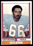 1974 Topps #527  Tom Funchess  Front Thumbnail