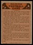 1974 Topps  Checklist   Rams Back Thumbnail