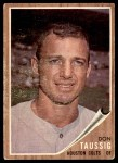 1962 Topps #44  Don Taussig  Front Thumbnail