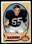 1970 Topps #6  Dan Conners  Front Thumbnail
