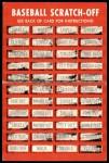 1971 Topps Scratch Offs #12  Juan Marichal  Back Thumbnail