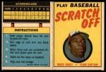 1970 Topps Scratch Offs #9  Mack Jones     Front Thumbnail