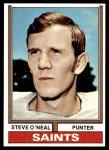1974 Topps #282  Steve O'Neal  Front Thumbnail