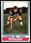 1974 Topps #298  Ray Mansfield  Front Thumbnail
