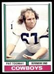 1974 Topps #361  Pat Toomay  Front Thumbnail