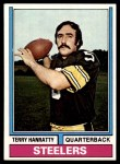 1974 Topps #382  Terry Hanratty  Front Thumbnail