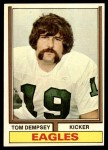 1974 Topps #270  Tom Dempsey  Front Thumbnail