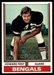 1974 Topps #373  Howard Fest  Front Thumbnail