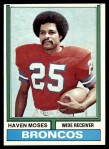 1974 Topps #295  Haven Moses  Front Thumbnail