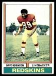 1974 Topps #313  Dave Robinson  Front Thumbnail
