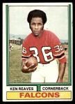 1974 Topps #317  Ken Reaves  Front Thumbnail