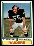 1974 Topps #358  Dan Conners  Front Thumbnail