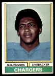 1974 Topps #364  Mel Rogers  Front Thumbnail