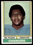 1974 Topps #364  Mel Rogers  Front Thumbnail