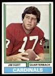 1974 Topps #395  Jim Hart  Front Thumbnail