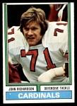 1974 Topps #312  John Richardson  Front Thumbnail