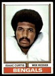 1974 Topps #315  Isaac Curtis  Front Thumbnail