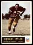1965 Philadelphia #195  Charley Taylor  Front Thumbnail