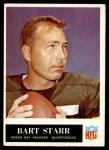 1965 Philadelphia #81  Bart Starr   Front Thumbnail
