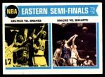 1974 Topps #161   NBA Eastern Semi-Finals Front Thumbnail