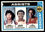 1974 Topps #149  Lenny Wilkens / Ernie DiGregorio / Calvin Murphy  Front Thumbnail