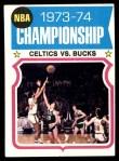 1974 Topps #164   NBA Championship Front Thumbnail