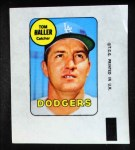 1969 Topps Decals  Tom Haller  Front Thumbnail