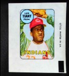 1969 Topps Decals  Luis Tiant  Front Thumbnail
