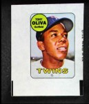 1969 Topps Decals  Tony Oliva  Front Thumbnail