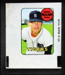 1969 Topps Decals  Denny McLain  Front Thumbnail