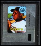 1969 Topps Decals  Willie Mays  Front Thumbnail