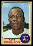 1968 Topps #404  Floyd Robinson  Front Thumbnail