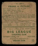 1938 Goudey Heads Up #269  Frank Pytlak  Back Thumbnail