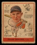 1938 Goudey Heads Up #268  Frank Demaree  Front Thumbnail