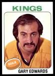 1975 Topps #105  Gary Edwards   Front Thumbnail