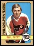 1972 O-Pee-Chee #187  Bill Flett  Front Thumbnail