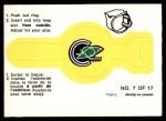 1973 O-Pee-Chee Rings #7   Seals Front Thumbnail