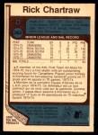 1977 O-Pee-Chee #363  Rick Chartraw  Back Thumbnail