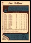 1977 O-Pee-Chee #317  Jim Neilson  Back Thumbnail