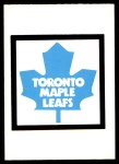 1977 O-Pee-Chee #337   Maple Leafs Records Front Thumbnail